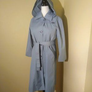 London Fog Powder Blue Trenchcoat